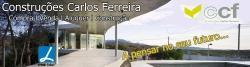 logótipo da CONSTRUÇÕES CARLOS FERREIRA E CIA. LDA.